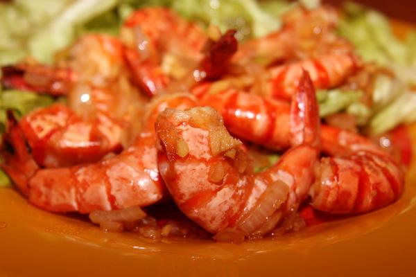 Crevettes au gingembre | Lucullent!