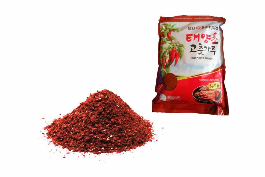 Piment coréen en poudre (Gochugaru)