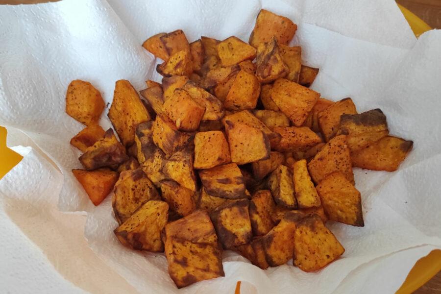 Potatoes de patates douces