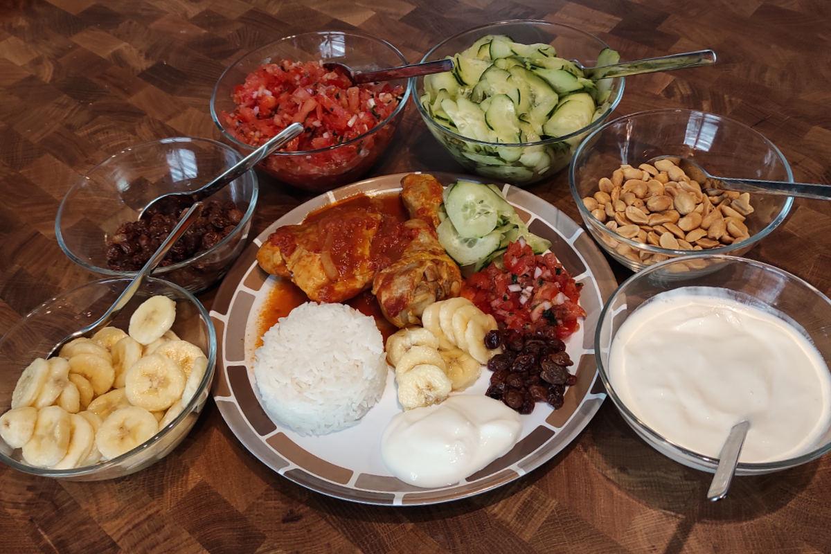 Poulet au curry | Lucullent!