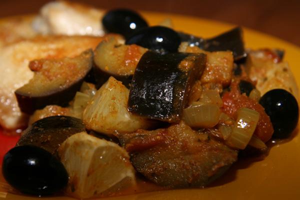 Poulet aux aubergines | Lucullent!