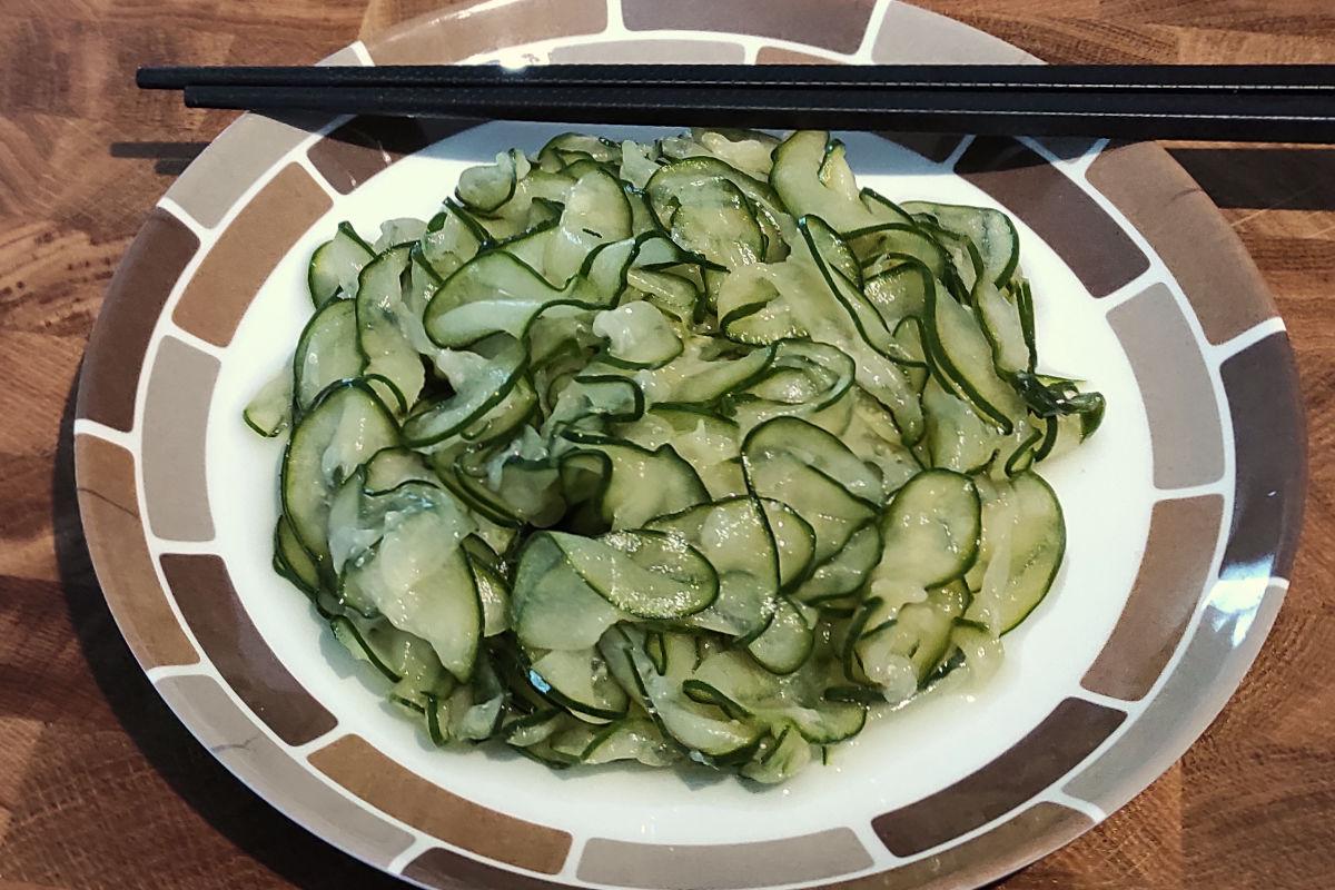 Salade de concombre au Nuoc Mâm | Lucullent!
