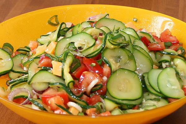 Salade de courgettes | Lucullent!