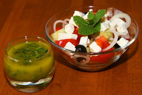Salade grecque | Lucullent!