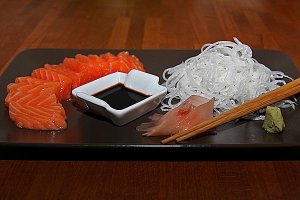 Sashimi de saumon | Lucullent!