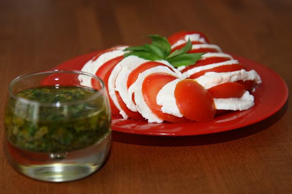 Tomates à la mozzarella | Lucullent!